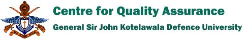 Centre for Quality Assurance